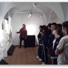 2ESO visita la exposición de Juan Antonio Moreno