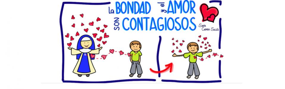 La BONDAD y el AMOR son CONTAGIOSOS
